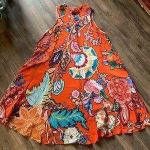 Anthropologie midi dress